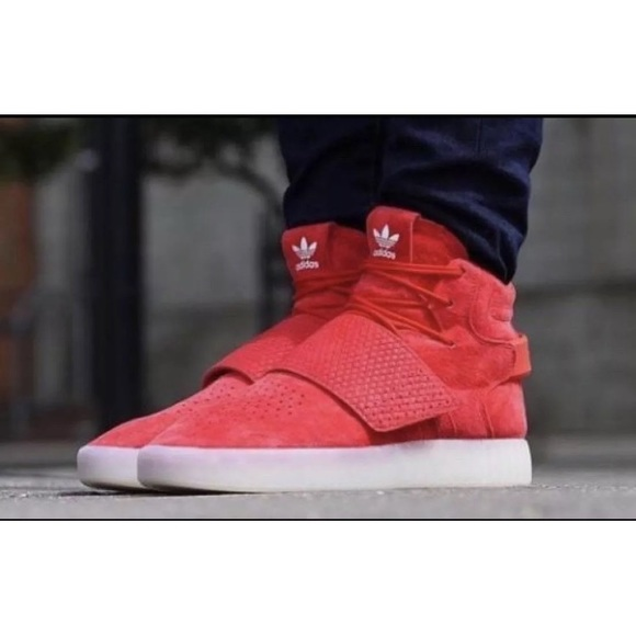 Men's ADIDAS Originals Tubular Invader Strap 11.5 NWT